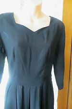 VINTAGE  Style ~ Blk Laced Back  ~ DRESS * Size S * GOTH/STEAM PUNK * REDUCED !!