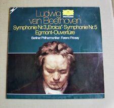 BEETHOVEN - Eroica Egmont - Ferenc Fricsay - 2 LP Set - Stereo England