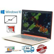"""Portátil Lenovo IdeaPad 320-15AST 15,6"""" AMD A9-9420 4GB 256GB SSD Windows 10"""