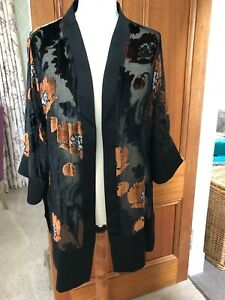 Next Devore Kimono Jacket Size L BNWT