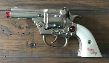 Vintage 1940's Cast Iron Gene Autry Toy Cap Pistol