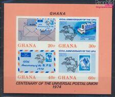 ghana Bloc 55b neuf 1974 upu (8777063