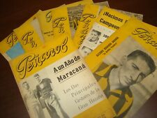 1948 Vintage 8 original magazines Uruguay Peñarol Football World Champions