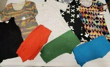 Lularoe Shirts (S-M) & Solid Leggings OS (One Size) Lot of 8   Women's
