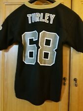 b929044c8 Size  52. LOGO ATHLETIC NFL NEW ORLEANS SAINTS  68 Kyle Turley Jersey youth  M