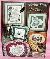 Stoney Creek From Time To Time Cross Stitch Leaflet Seasonal Holidays Christmas