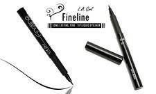 LA L.A. Girl Fineline Long Lasting Black Liquid Eyeliner - Fine Tip