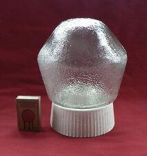 Die Lampe aus der Kellerwand Lampenglas grobe Art Deco Loft Bauhas