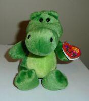 Ty 2.0 Beanie Baby - CHOMPY the Alligator (6 Inch) MWMT (MISSING CodeTag)