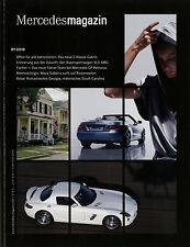 Mercedes Magazin 1 2010 SLS AMG GLK 250 CDI E 350 CGI Cabrio Maya Gabeira Auto