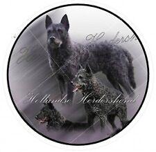 Aufkleber Motiv 1 Hollandse Herdershond Holländischer Schäferhund Rauhhaar