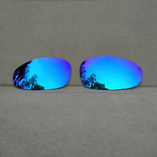Polarized Ice Blue Mirrored Replacement Lenses for-Oakley Juliet Sunglasses