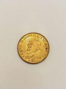 1997 Brett Favre Pinnacle Mint Coin #21 Team: Packers