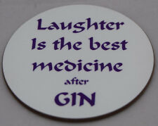 Gin fun coaster - ideal gift