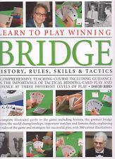CARDS - BRIDGE History, Rules, Skills & Tactics David Bird **GOOD COPY**