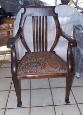 Cherry Harp Back Chair / Armchair (Ac51)