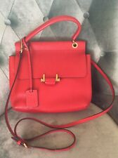 Lanvin Essential Small Red Crossbody Bag Pre-owned