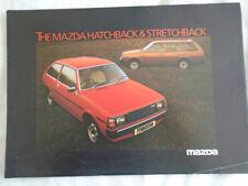 Mazda Hatchback & Stretchback brochure Jan 1980
