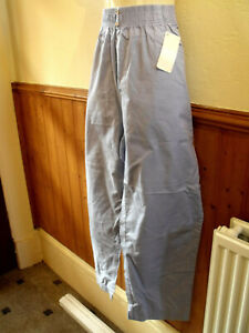 BRAND NEW CLASSIC BLUE PULL ON TROUSERS SIZE 22