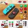 Silicone Poke Ball Button Thumb Grips Cap For Nintendo Switch Joy-Con Controller