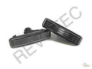 97-03 BMW E39 5-Series 525i 528i 530i 540i M5 Smoke Side Marker Repeater Lights