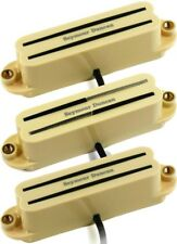 Seymour Duncan Versa-Rails Strat 3 Pickup Set w/SHR-1b, SVR-1n and SCR-1n, Cream