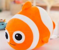 """8"""" Soft Cute Finding Nemo Clownfish Stuffed Animal Plush Kids Doll Toy"""