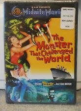 The Monster That Challenged the World (DVD, 2001) RARE HORROR 1957 BRAND NEW