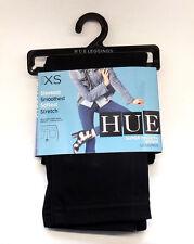 HUE Leggings Smooth Denim Jeggings Women Pants ORIGINAL Size XS Black RY18A/16