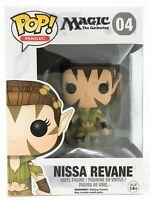 Funko Pop! Magic The Gathering Nissa Revane Vinyl Figure Toy C-Grade Box