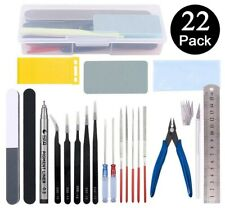 Professional Gundam Model Tools Kit Modeler Basic Craft Set Hobby Buildin 22 PCS