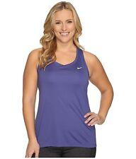 Womens NIKE DRI-FIT Miler  PLUS Size 2x 2xl xxl  20 22 shirt tank Top Purple