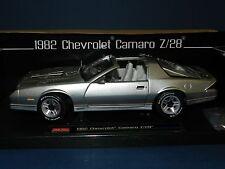 Sun Star 1/18 1982 Chevrolet Camaro Z/28 Silver MIB
