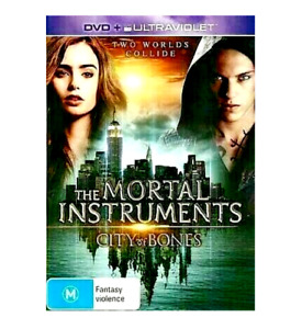 The Mortal Instruments: CITY OF BONES : as NEW DVD R4
