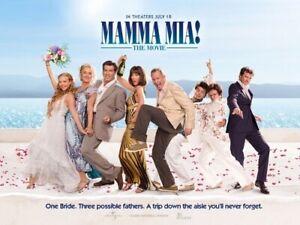 Mamma Mia 35mm Film Cell strip very Rare var_e