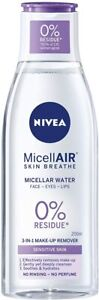 NIVEA MicellAIR Skin Breathe Micellar Water 3-in-1 Sensitive Makeup Remover