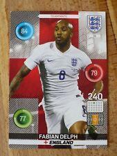 Panini England 2016 Fabian Delph Football card # 33