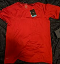 Nwt Men's Nike Uv Dri-Fit Miler Running Top red 717405-406 Size Medium