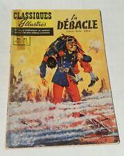 classiques illustrés # 21 , 1958  la débacle