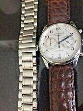 Longines Master Collection Chronograph Stainless Steel Watch L2.629.4