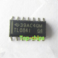 10 x TLO84I TL084I TL0841 TL084IDR SOP-14 JFET-INPUT OPERATIONAL AMPLIFIERS