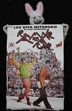 LES RITA MITSOUKO - Affiche originale album Système D - 1993 - Poster 120x80cm