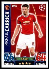 Match Attax Champions League 15/16 Michael Carrick Manchester United FC No. 334