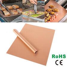 Neu Dauer BBQ Grillmatte Unterlage Backmatte & Antihaft-Bratfolie aus Glasfaser