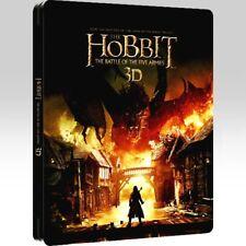 The Hobbit Battle of the Five Armies 3D Steelbook [Blu-Ray]
