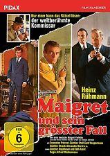Maigret und sein größter Fall * DVD Film mit Heinz Ru?hmann Krimi Pidax Neu
