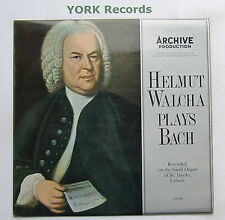 004 492 - BACH - HELMUT WALCHA PLAYS BACH - Excellent Condition LP Record