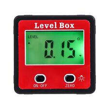 Digital Inclinometer Level Box Protractor Angle Guage Accurate Measuring