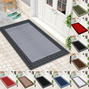 Modern Non Slip Washable Small Large Door Mats Indoor Outdoor Kitchen Floor Mats