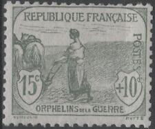 "FRANCE STAMP TIMBRE N° 150 "" ORPHELINS FEMME LABOUR 15c + 10c "" NEUF xx TTB K163"